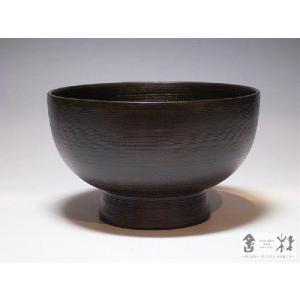 漆器 千すじ 汁椀 小 ねず 輪島キリモト 桐本泰一作   (お椀) cast0217