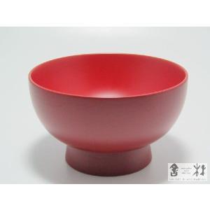 漆器 福椀 4.2寸 赤 土田和茂作|cast0217