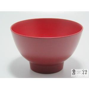 漆器 つぼみ椀 4寸 赤 土田和茂作|cast0217