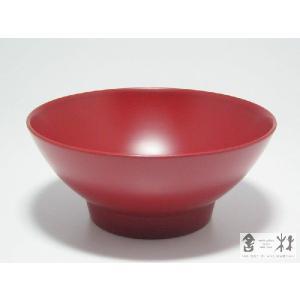 漆器 糸椀 大 4.2寸 赤 土田和茂作|cast0217