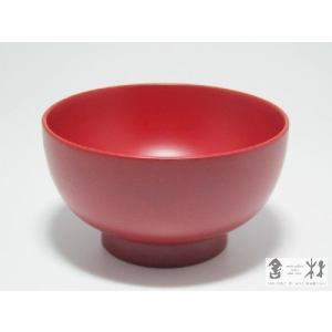 漆器 小丸椀 3.6寸 赤 土田和茂作|cast0217