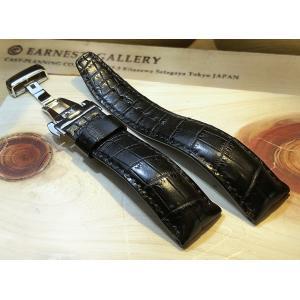 EARNEST ハンドメイド/スタンダードDバックル仕様/マットクロコ竹斑 18mm,20mm,22mm,24mm|cast