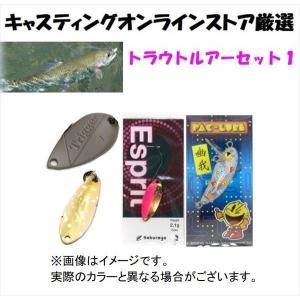 釣り入門! トラウト管理釣り場ルアー スタートセット 1|casting