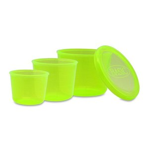 モーリスBASIC 計量カップ(グリーン)3点セット casting