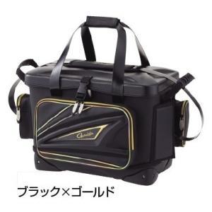がまかつ タックルバッグ GB358 がま磯クール 25リットル ブラック/ゴールド