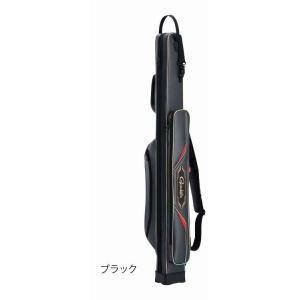 がまかつ がま磯 ロッドケース(スクエアタイプ) GC289 ブラック