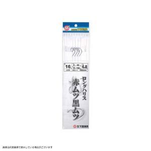 下田漁具 ロングハリス 赤ムツ黒ムツ 4本針 RBM400 針16号-ハリス8号の商品画像 ナビ