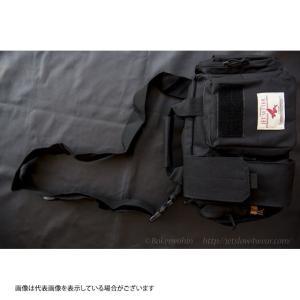 ジェットスロウ ミリタリーバッグ ブラック|casting