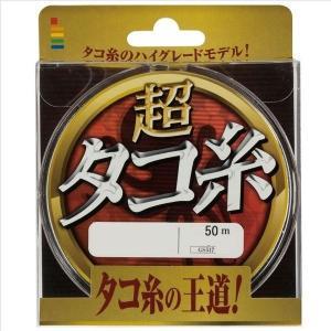 ゴーセン 超タコ糸 50M 10号|casting