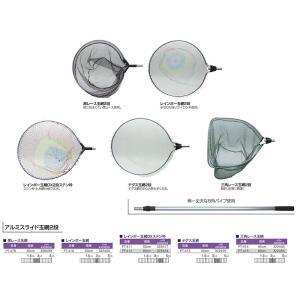 アルミスライドレインボー玉網DX2段ステン枠50cm casting