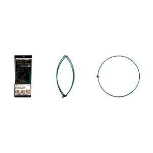 宇崎日新 ゼロサム タモ枠(四ツ折り)チタンレインボー 50cm