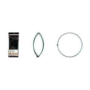 宇崎日新 ゼロサム タモ枠(四ツ折り)チタンレインボー 55cm