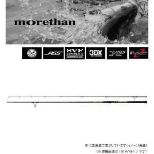 ダイワ モアザン ブランジーノ AGS 103M/MH・J casting