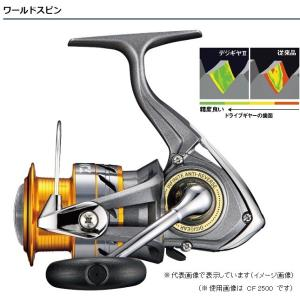ダイワ(Daiwa) リール 17 ワールドスピンCF 2000 スピニングリール