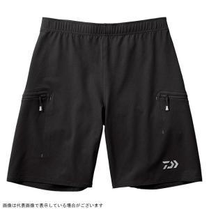 ダイワ DP-86009 ストレッチメッシュ ハーフショーツ ブラック S|casting
