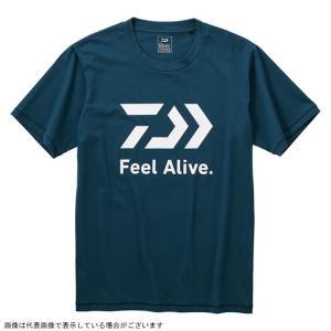 ダイワ DE-83009 ショートスリーブ FEEL Alive.Tシャツ リバーブルー 2XL|casting