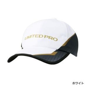 シマノ 撥水キャップ LTDプロ ホワイト フリーサイズ|casting