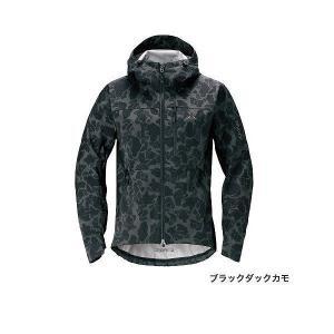シマノ JA−240R XEFO(ゼフォー) ストレッチジャケット ブラックカモ L