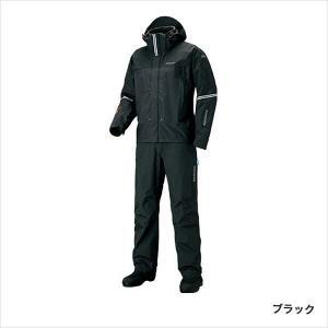 シマノ RT−025S DSアドバンス プロテクティブスーツ ブラック XLS