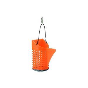 FINA ハヤブサ BK チリトリ型コマセカゴ EasyScoop オレンジ M 8|casting