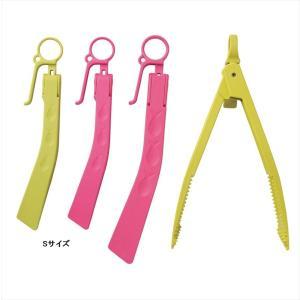 浜田商会 2ウェイ Rバサミ フック付 S ピンク casting
