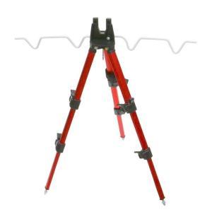 ATC174 アルミ三脚ワンタッチ ミニ RED casting