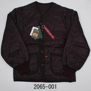 ALPHA アルファ 2065-001 M-65ライナー ブラック 表・裏地:ナイロン100% 中綿...
