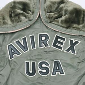 AVIREX アヴィレックス(アビレックス) 6182038-73 N-2B TIGHT  LOGO ロゴ  セージグリーン L casualcojp 02