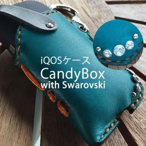 アイコス ケース 革 iqos ケース 本革 名入れ カバー ブランド 誕生日 プレゼント 男性 女性 スタッズ スワロフスキー メンズ catcase