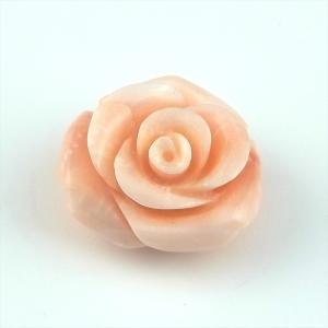 珊瑚 裸石 ルース ピンク珊瑚 深海珊瑚 彫 バラ 薔薇 ばら 天然 cathaycoral
