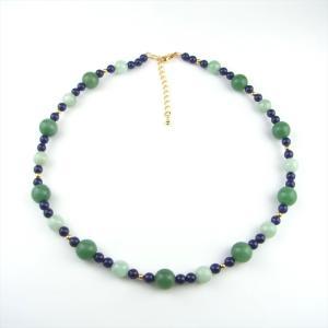 天然石 ネックレス ひすい 翡翠 アベンチュリン ラピス|cathaycoral