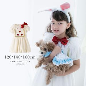 ハロウィンコスチューム 子供 衣装 かわいいもこもこ白うさぎコスチュームセット 120 130 140 150 160 cm TAK|catherine