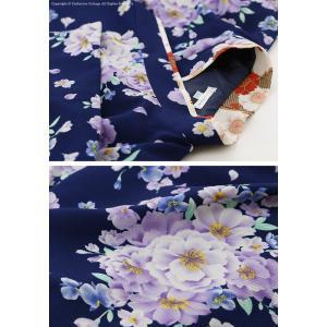 卒園式 子供服 女の子 着物 刺繍入り袴 帯枕...の詳細画像5