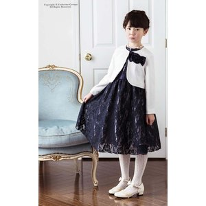 子供服 シンプルボレロ キッズ フォーマル 女...の詳細画像1