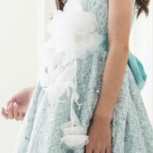 2WAYコサージュ ヘアクリップ 安全ピン 大輪の白い花 フォーマル  バラ  髪飾り 結婚式 発表会   和装 ドレス|catherine