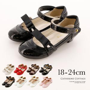 歩きやすいロリィタ靴 ロマンティックワンストラップシューズ 18 19 20 21 22 23 24...