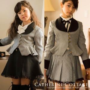 子供スーツ 女の子 子ども 卒業式 卒園式 入学式 丸衿ぺプ...