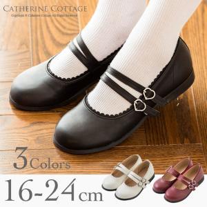 入学式 子供 靴 卒業式 子供靴 フォーマル 女の子 廉価版 2本ベルトシューズ 18 19 20 ...