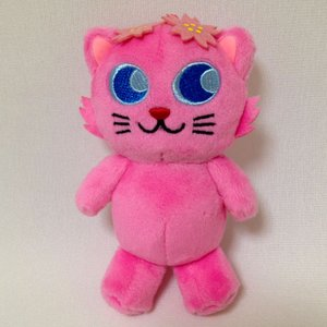 花咲Cat SAKURAぬいぐるみ(小)ストラップ付|catrunshop|02