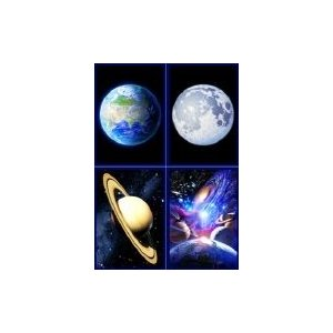 KAGAYA スペース ポストカード 4枚セット|catrunshop