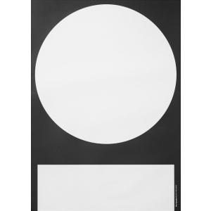 PLAYTYPE I Black/White ポスター|catstyle