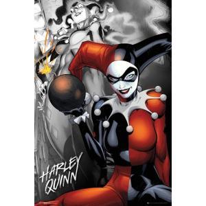 DCコミック ハーレイ・クイン ポスター|catstyle