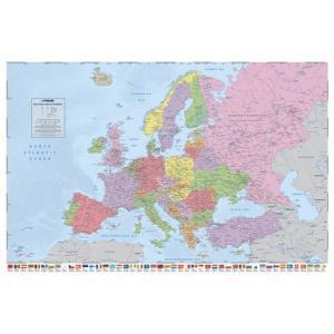 ヨーロッパ地図 ポスター|catstyle