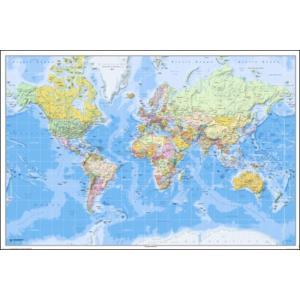 World Map ポスター