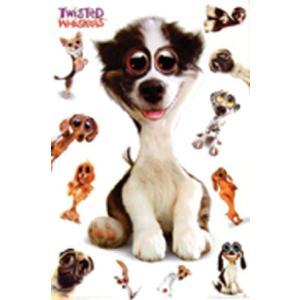ツイステッドウィスカーズ/犬 ポスター|catstyle