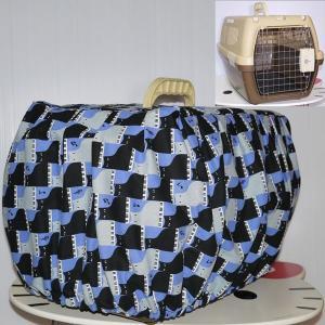 【オーダーメイド】マルカン 2ドアキャリー&リッチェル キャンピングキャリーSサイズ専用 キャリーカバー|cattery-branche