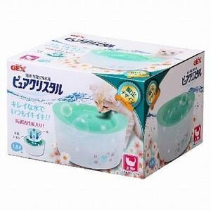 【宅配便配送】期間限定企画品 GEX ジェックス ピュアクリスタル 全猫用 1.8L ガーリー グリーン cattery-branche