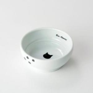 【宅配便配送】猫壱 ハッピーダイニング フードボウル 猫柄 cattery-branche