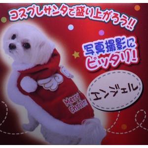【宅配便配送】ペティオ クリスマス ウェア エンジェル MSサイズ|cattery-branche