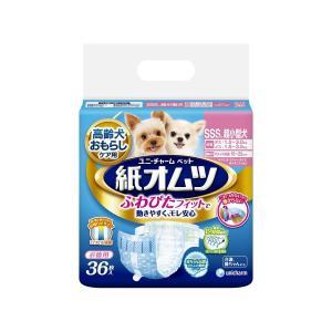 【宅配便配送】ユニ・チャーム ペット用紙オムツ 超小型犬用 SSSサイズ 36枚|cattery-branche